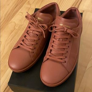 Saint Laurent SL01 Low Top Sneaker Mística Rose
